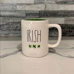 Rae Dunn IRISH mug St. Patty's Patrick's Day green